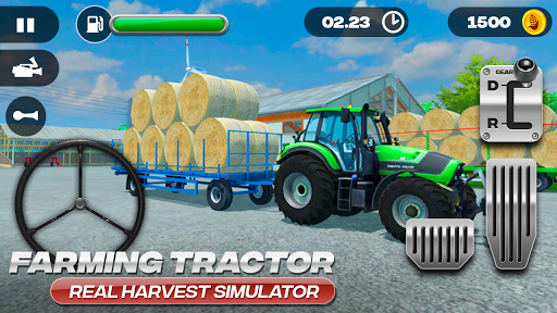 Farming Tractor Real Harvest Simulator 2.0 screenshots 4