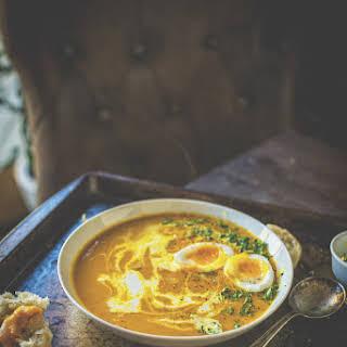 Creamy Carrot Soup.