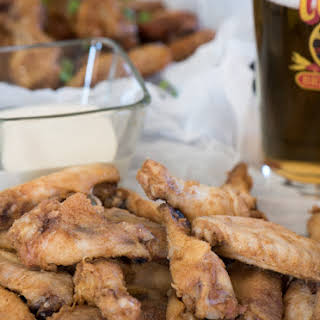 Oven Crispy Chicken Wings.