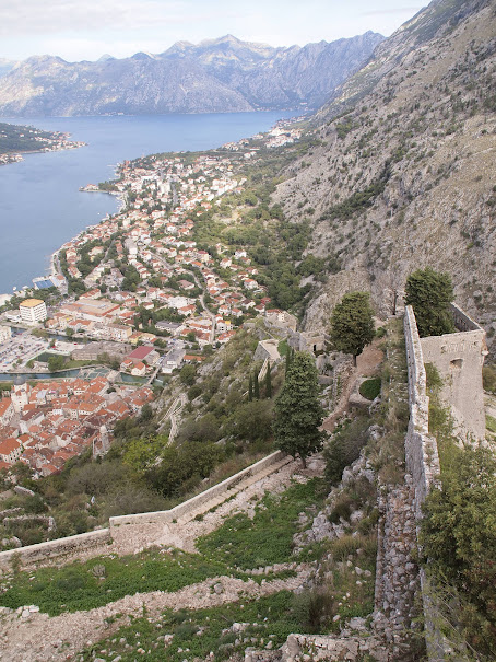 Just another awesome view of the Bay of Kotor.