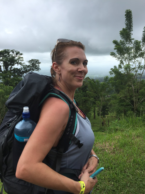 Amy volcano hike