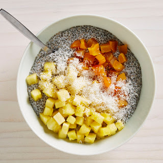 Chia Pudding with Dried Apricots and Pineapple Recipe