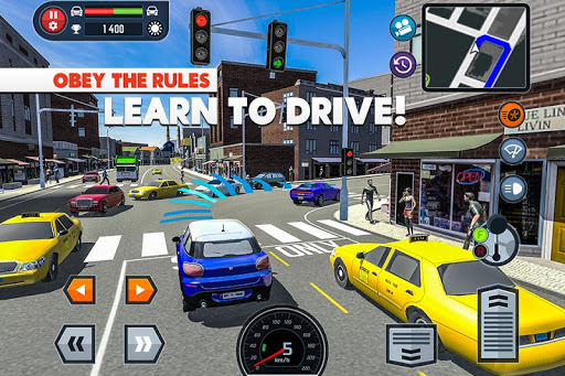 Car Driving School Simulator  screenshots 1