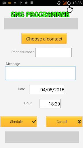 SMS Sheduler