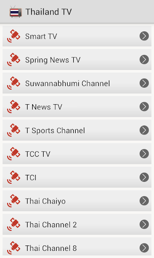 Download TV Channels Thailand Online Google Play softwares