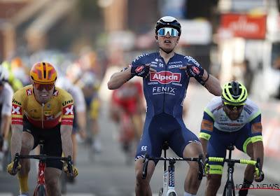 """Mooie overwinning voor Tim Merlier in de GP Le Samyn: """"Ben blij dat ik het heb kunnen afmaken"""""""