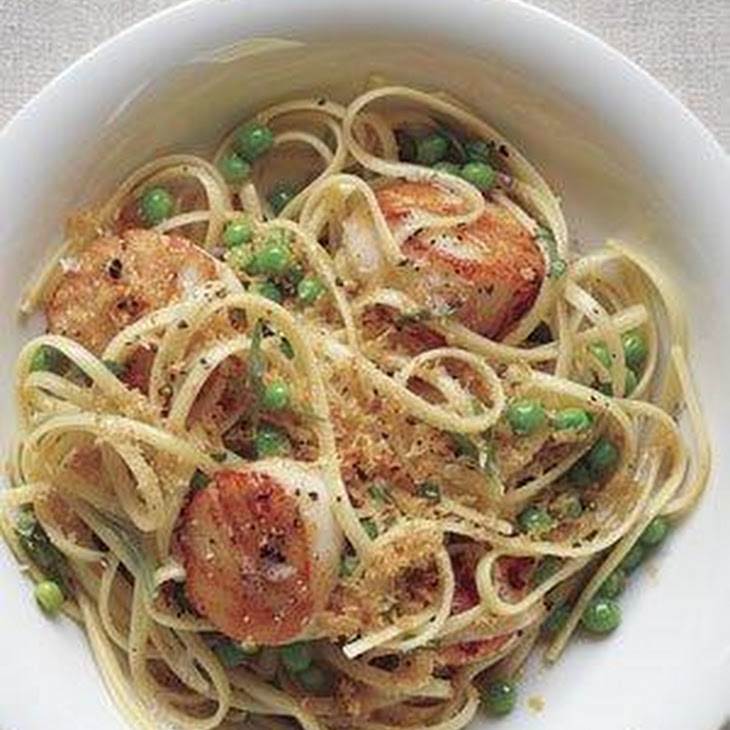 Linguine With Scallops and Brown Butter Recipe | Yummly