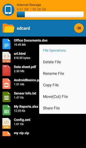 File Explore 1.1 screenshots 5