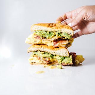 Bacon Avocado Egg Sandwich