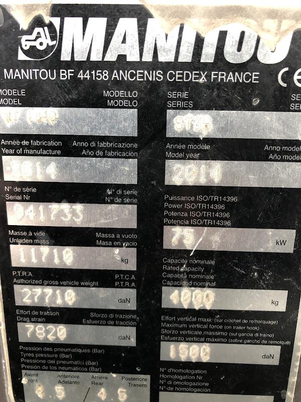 Picture of a MANITOU MT1840 PRIVILEGE