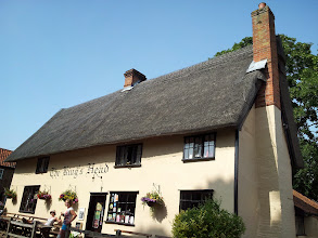 Photo: The King's Head is an ancient real ale pub just west of Southwold.