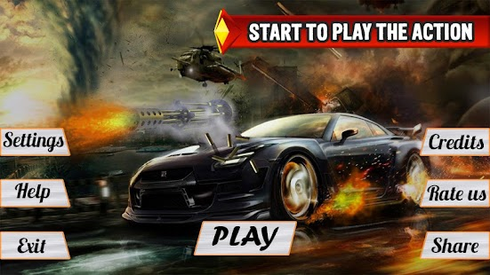 Mad Death Race: Max Road Rage Screenshot