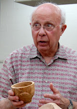 Photo: Bill Long talks about his experiences with a cherry root ball, and ...