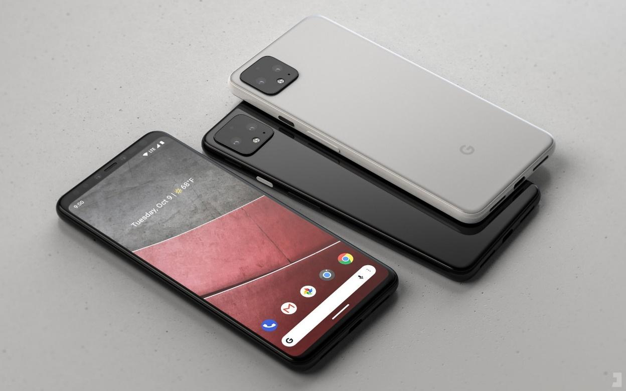Image result for pixel 4 series with 3d face recognition and dual camera