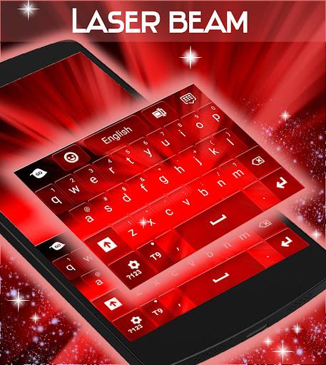 玩免費個人化APP|下載レーザービームのキーボード app不用錢|硬是要APP