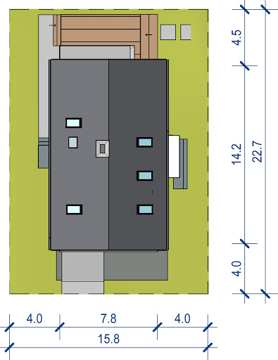 Domidea 50 d40 - Sytuacja