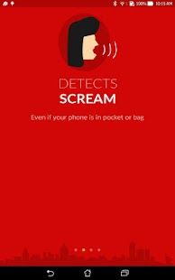 Chilla : Anti Rape women app- screenshot thumbnail