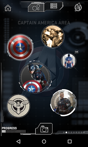 AVENGERS S.T.A.T.I.O.N. MOBILE Screenshot