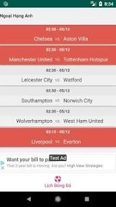 Football Schedule Vietnam 2.0 (Ad Free)