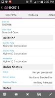 Screenshot of SAP Retail Execution