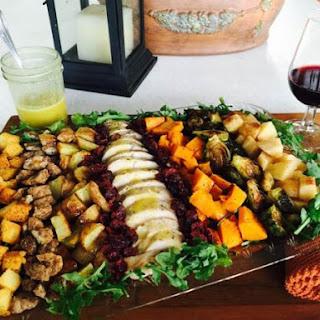 Thanksgiving Salad with Chardonnay Vinaigrette
