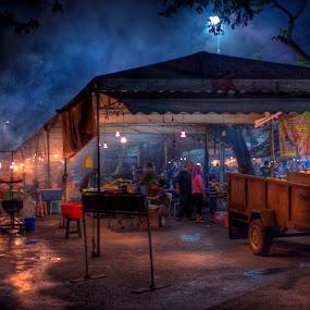 by Mohamad Sa'at Haji Mokim - City,  Street & Park  Street Scenes
