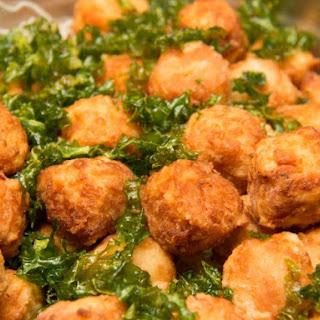Cajun Shrimp Balls.