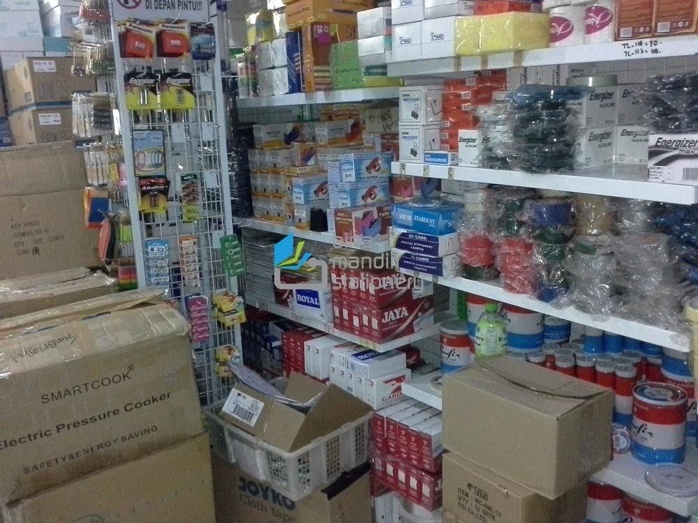 Jual Perlengkapan kantor dan Stationery Sekolah Toko ATK Bina Mandiri