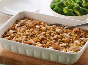 Easy Chicken And Stuffing Casserole Recipe