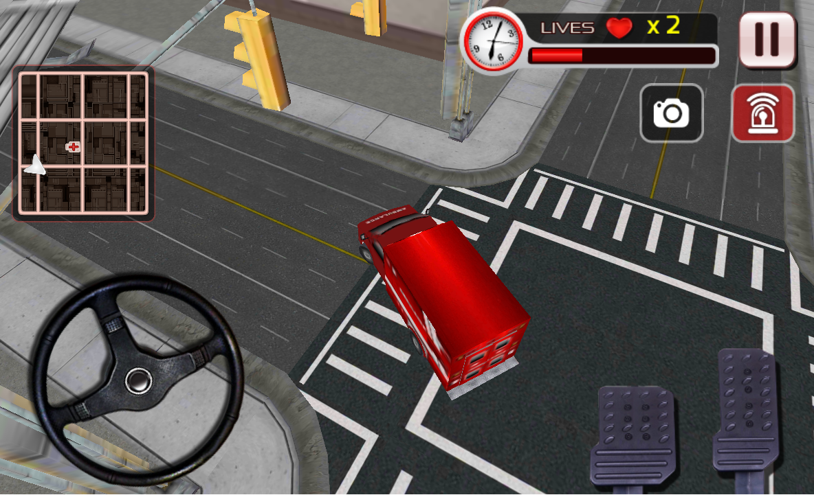 911 Ambulance Rescue Driver- screenshot