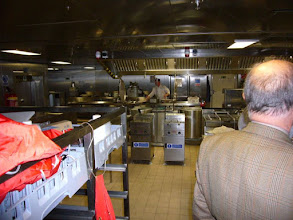 Photo: Part of galley