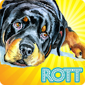 Cute Rottweilers Wallpaper icon
