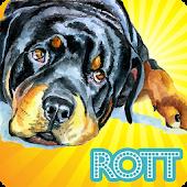Cute Rottweilers Wallpaper