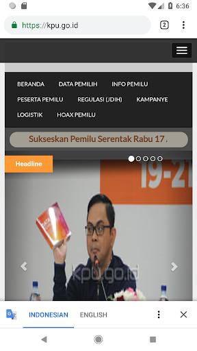 KPU RI PEMILU 2019 2.0.1 Screenshots 6