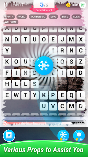 Screenshot for Find Words–Moving Crossword Puzzle in United States Play Store