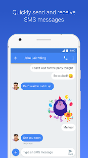 Android Messages- screenshot thumbnail