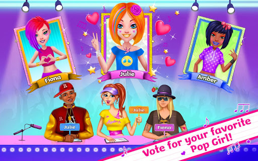 Pop Girls - High School Band 1.1.9 screenshots 4