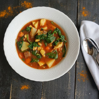 Weight Watchers Soup ~ Moroccan Chicken Recipe
