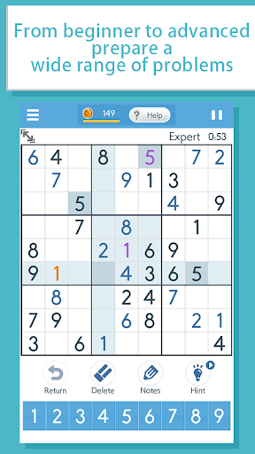 Sudoku‐A logic puzzle game ‐ apklade screenshots 2