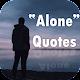 Alone Quotes APK