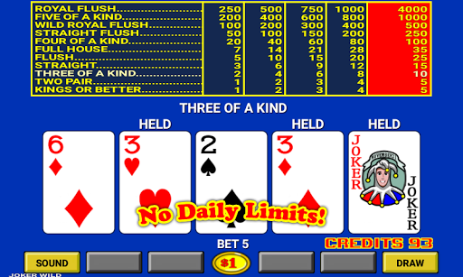 Video Poker 7.2 screenshots 3