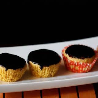 Eggless Orange Muffins.