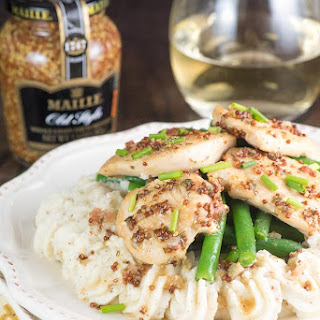 Dijon Mustard White Wine Chicken Recipe