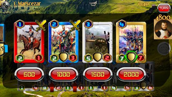 Napoleon War Cards- screenshot thumbnail