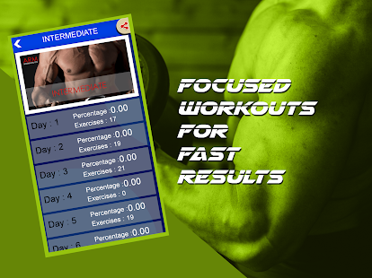 Arm Workout : 30 Days Celebrity Fitness Challenge Screenshot