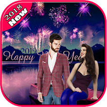 Download Happy New Year Photo Frame 2019 : Cut Paste Editor