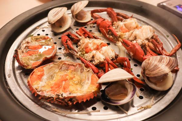 新莊海鮮餐廳-春酒/尾牙餐廳-蒸海精緻鍋物, 尚青的食材用蒸的就很好吃,感受食材最鮮甜的滋味,聚餐,套餐,單點,包廂,寵物友善餐廳