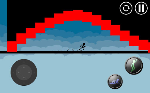 Stickman Parkour Platform Spel (APK) gratis nedladdning för Android/PC/Windows screenshot