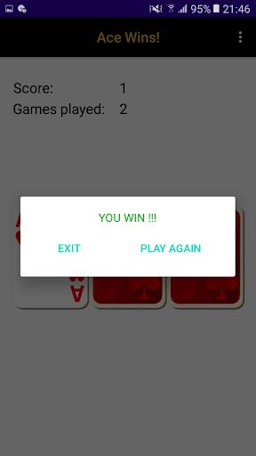 Ace Wins! A simple 3 cards game. apktram screenshots 3