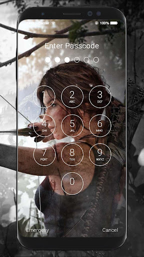 Tomb Raider HD Wallpapers Lock Screen 1.0 screenshots 4